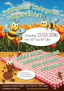 Plakat Frühlingsfest 2016